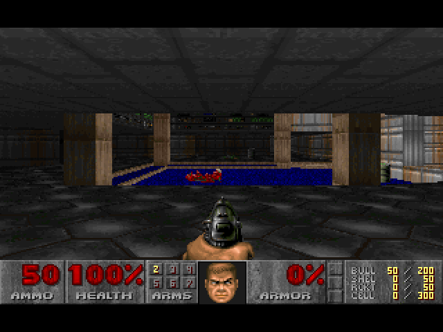 Image of first level of Doom